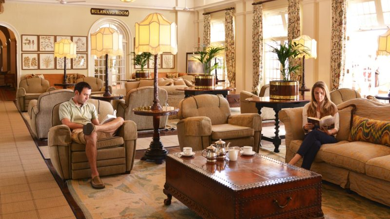 The Victoria Falls Hotel Conference Lounge