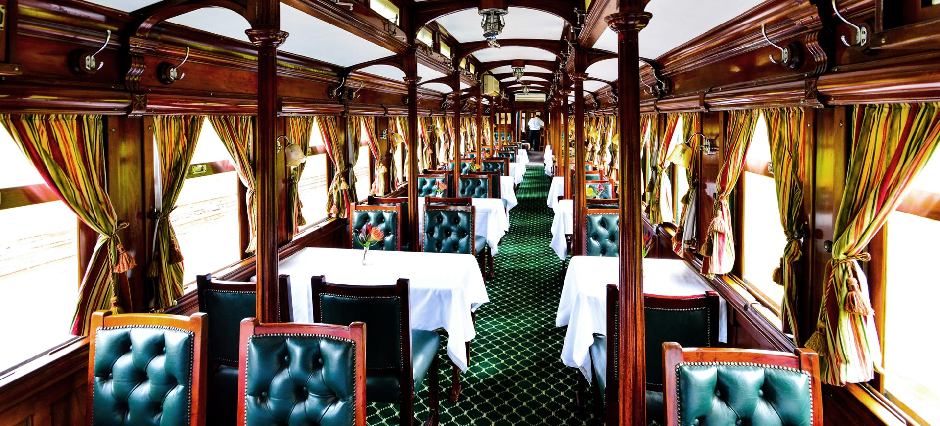 Victoria Falls Conference Dinner Steam Train
