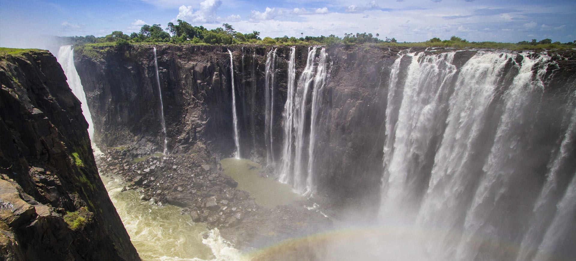 Victoria Falls Conference Waterfall Guided Tour