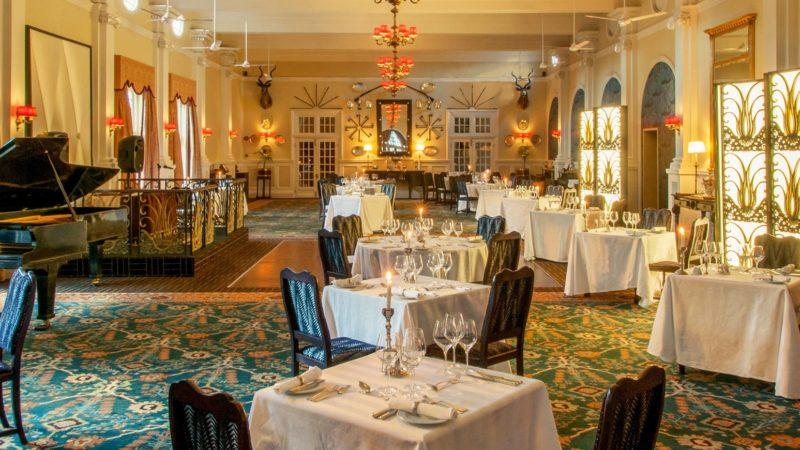 Victoria Falls Hotel Conference Dinner