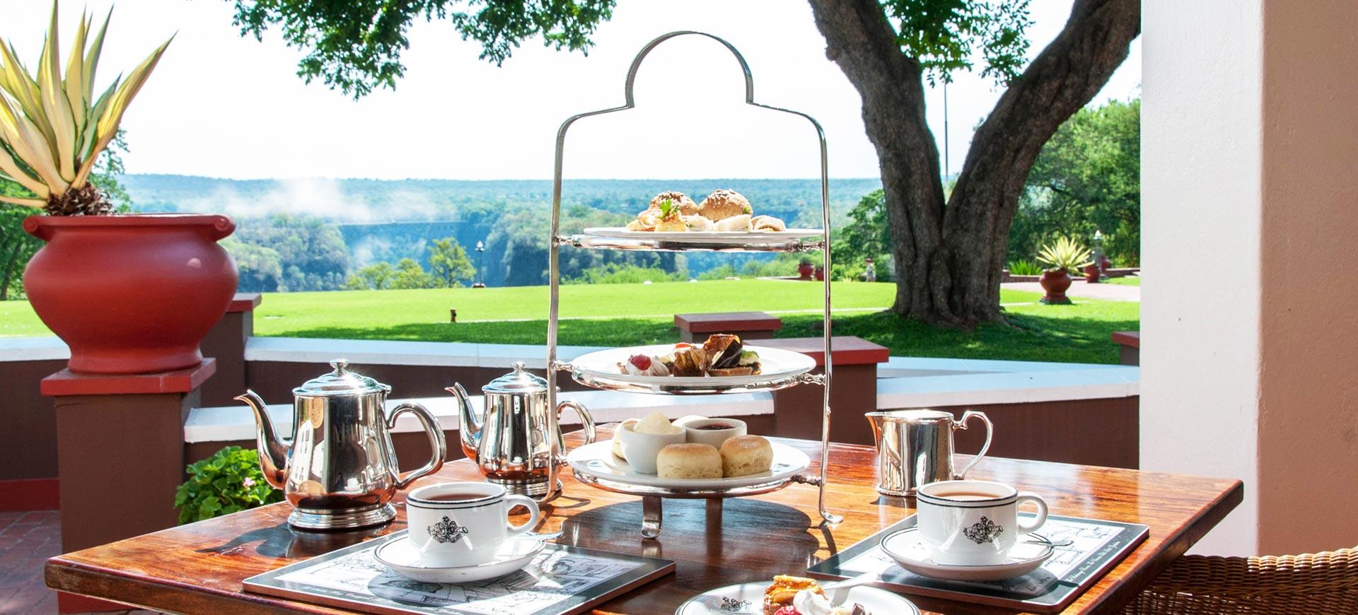 Victoria Falls Hotel Conference High Tea