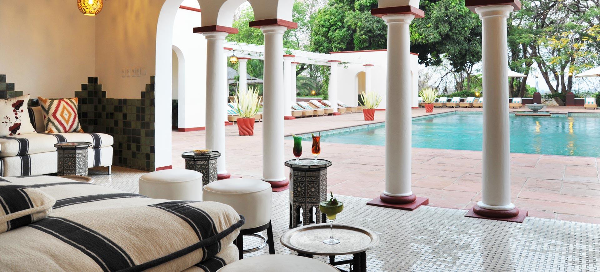 Victoria Falls Hotel Conference Pool