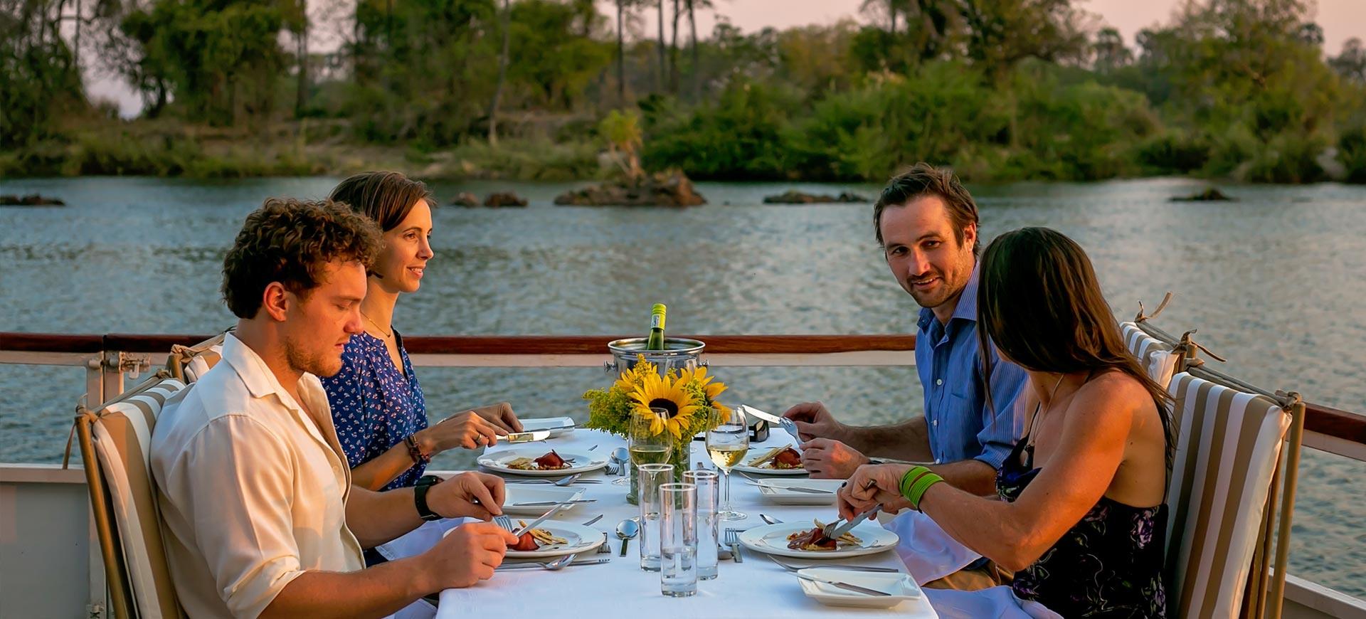 Zambezi Dinner Cruise Victoria Falls Conference
