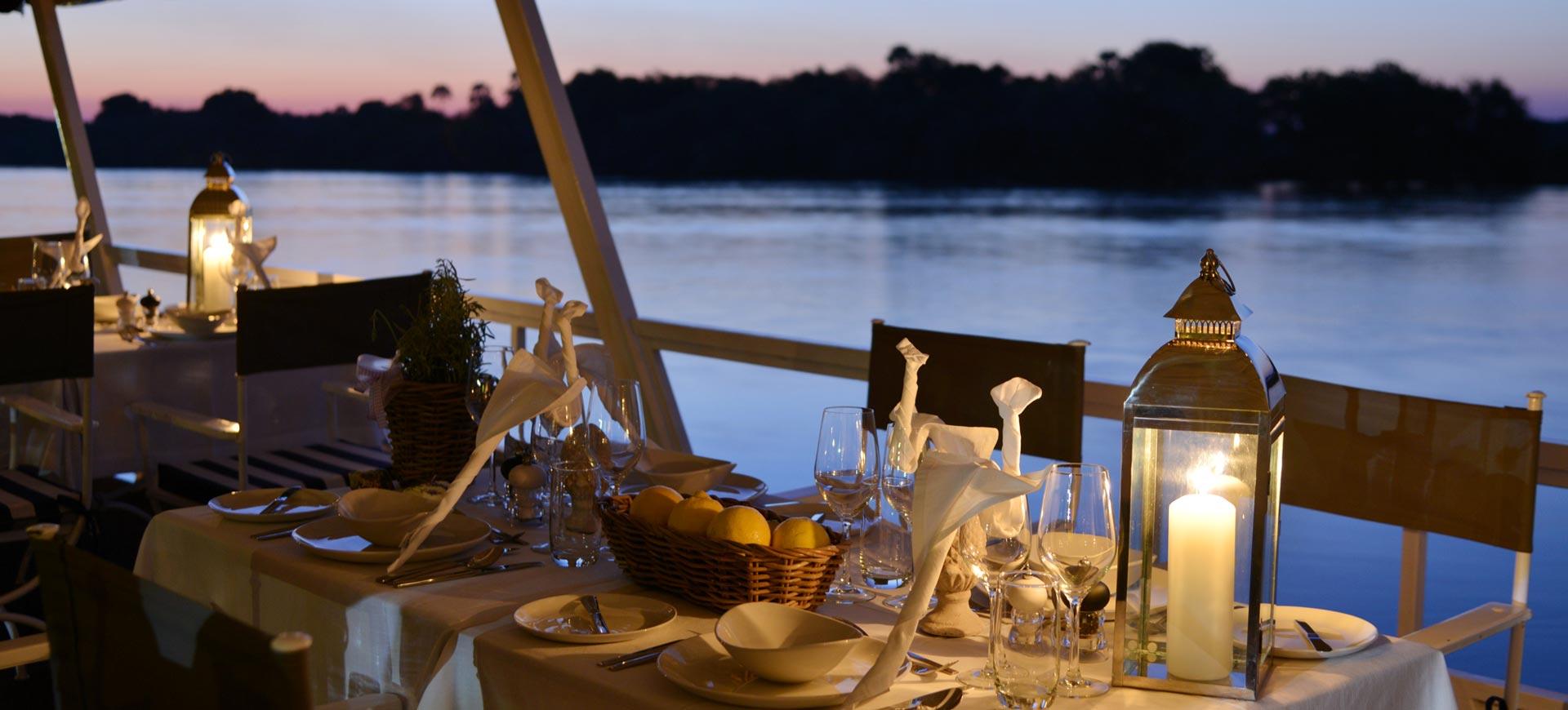 Zambezi River Conference Dinner Cruise Victoria Falls